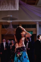 Bellydance performance at an Oxford college ball