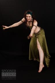 Oxford bellydancer Rachael playing sagat (finger cymbals)