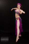 Oxford bellydancer Rasha Nour in purple 6