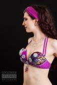 Oxford bellydancer Rasha Nour in purple 14
