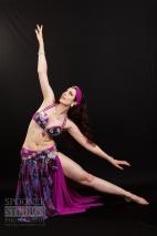 Oxford bellydancer Rachael in purple 18