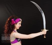 Oxford bellydancer Rasha Nour in purple 20