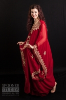Rachael in Khaliji dress