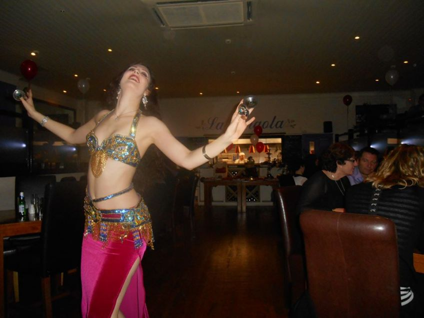 Bellydancer at La Pergola Leamington