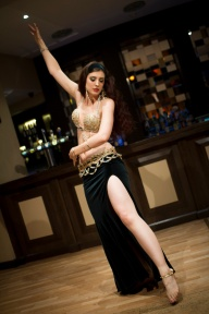 Rasha performing at Hipnotic bellydance showcase in Reading, September 2013