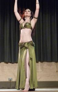 Rasha dancing in the Summer School show