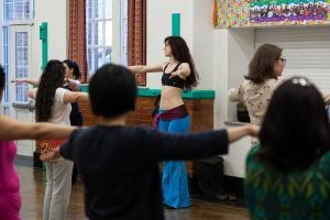 Rasha's bellydance class