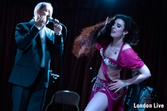 Love Stories show at Underbelly Hoxton, part of London Live 2019.